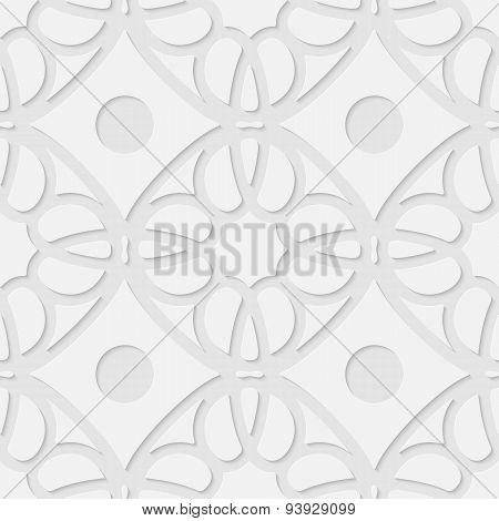 Vector 3d seamless geometric pattern background