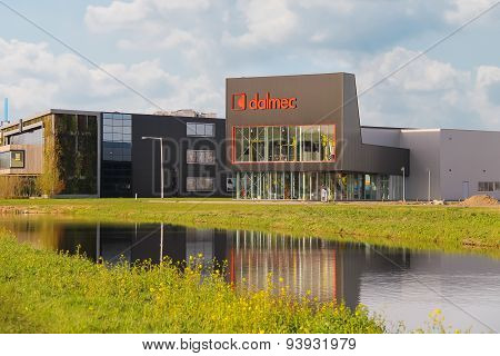 Offices Companies Dalmec And  Cravt On The Outskirts Of Meerkerk, Netherlands