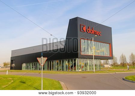 The Company's Office Dalmec On The Outskirts Of Meerkerk, Netherlands