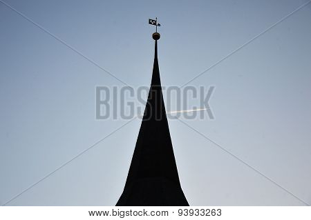 pinnacle of the church
