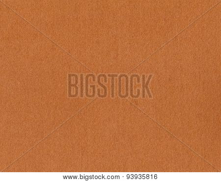 Brown felt as background or texture.