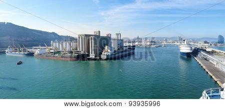 Harbor of Barcelona