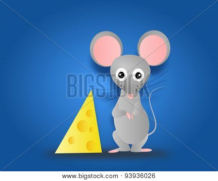 Mouse With Cheese