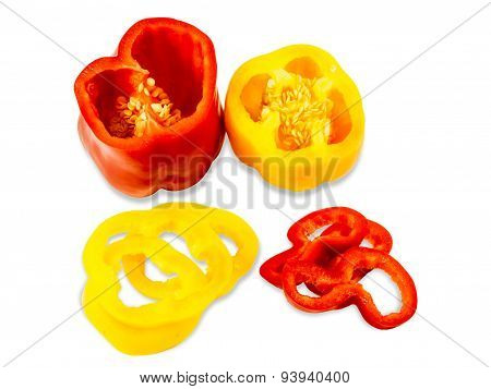 Bell Peppers Sliced Rings