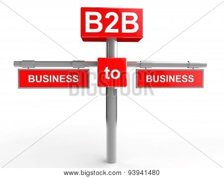 Business to Business concept