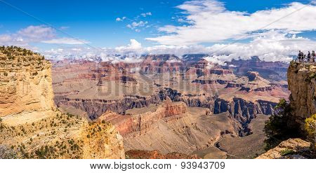 Grand Canyon View From Powell Point