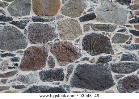 stone wall background - natural texture