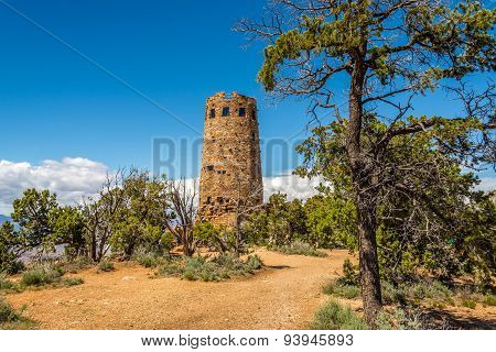 Watchtower At The Desert View - Grand Canyon