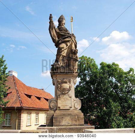 St Augustine Statue, Prague.