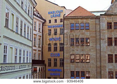Karlovy Lazne building, Prague.