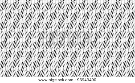 Cubes Of Points Seamless Background