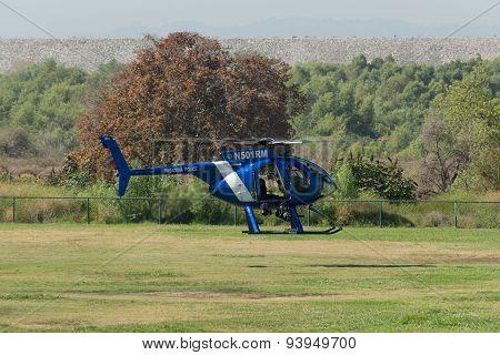 Pasadena Police Helicopter
