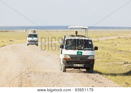 Safari Cars In Kenya, Editorial