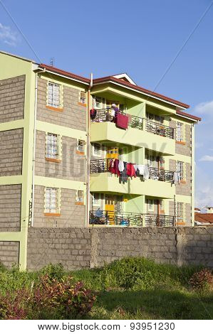 Kenyan Apartment Building, Editorial