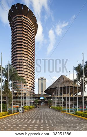 Kicc Building In Nairobi, Kenya, Editorial