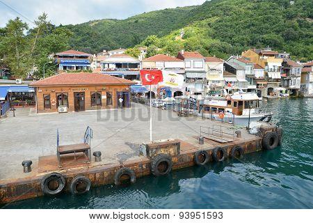 Pier Of Anadolu Kavagi, Istanbul, Turkey