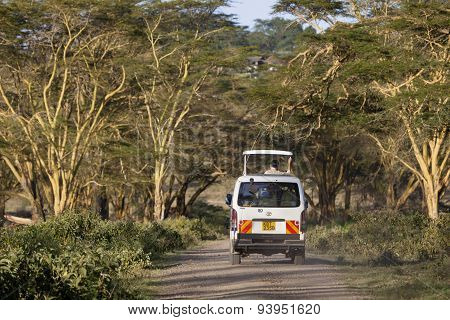 Safari Car In Kenya, Editorial