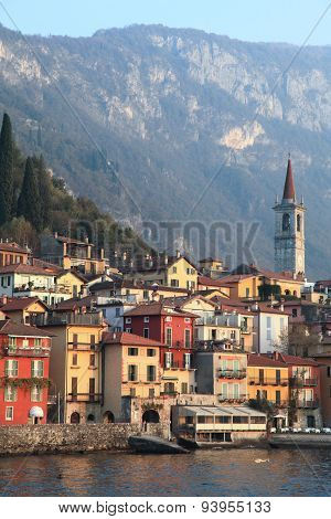 Resort town at Lake Como