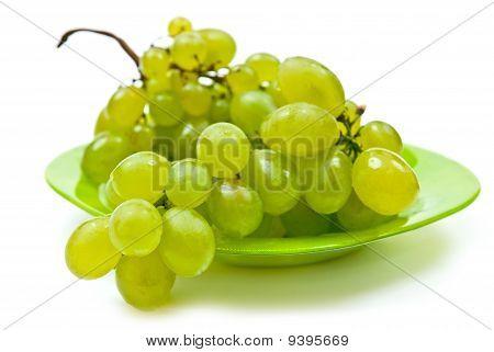 Grape On Plate