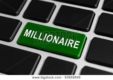 Millionaire Button On Keyboard