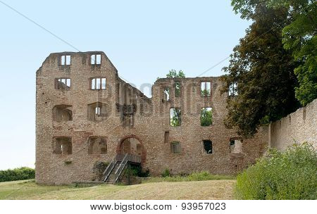 Castle Ruin In Oppenheim