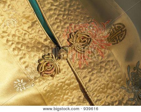 Chinese Silk Jacket Detail