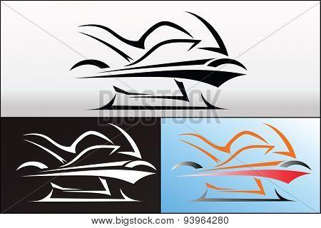 Motorbike logo design 2