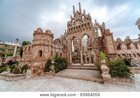 Colomares Castle. Benalmadena Town. Spain