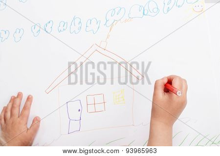 Children's Hand Painted Home