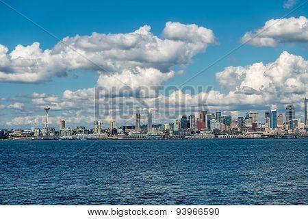 Sunny Seattle Skyline 3