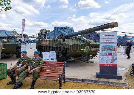 Self-propelled tank destroyer 2S25 Sprut-SD