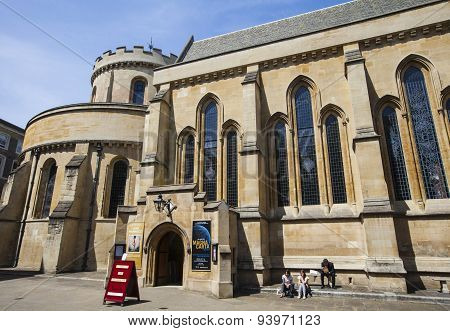 Temple Church In The City Of London