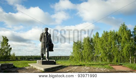 A Monument To Vladimir Lenin