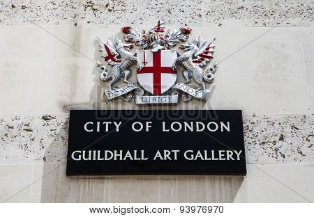 City Of London Guildhall Art Gallery