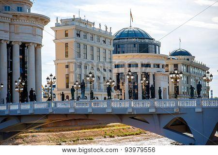Scopje city center