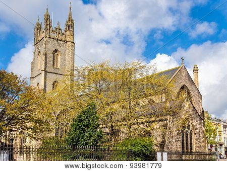 Church Of St. John The Baptist In Cardiff - Wales