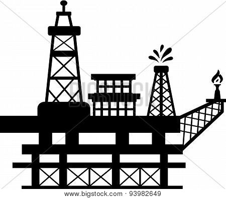 Oil Rig Four