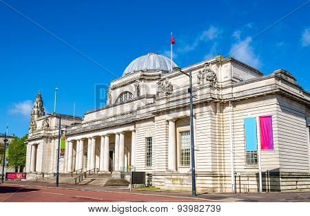 National Museum Of Wales In Cardiff, Great Britain