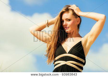 Seductive Woman Summertime