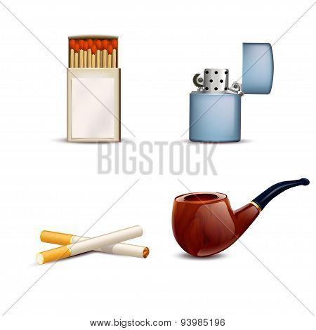 smoking set