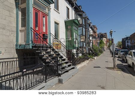 Streets In Montreal