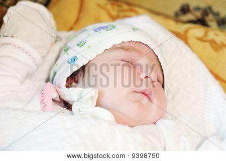 Lindo bebé para dormir