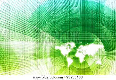 Connected Globally Worldwide as a Network Concept