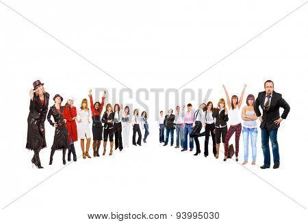 People Diversity HIERARCHY Concept