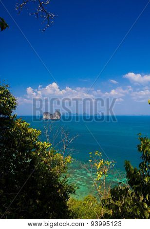 Blue Paradise Idyllic Seascape