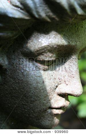 Close-Up Statue