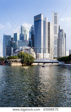 Singapore Central Business District (CBD).