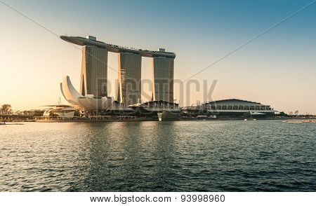 The Marina Bay Sands In The Morning