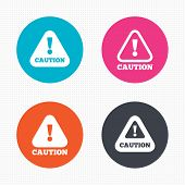 picture of hazardous  - Circle buttons - JPG