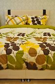 image of pillowcase  - Comfortable and stylish looking for luxury pillows and bed - JPG